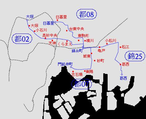 バス 図 都 路線